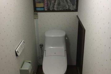 シンプルで使いやすいトイレ
