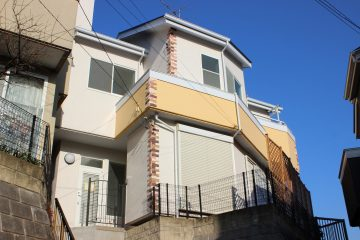 佐倉市上志津戸建て南欧風に外壁塗装